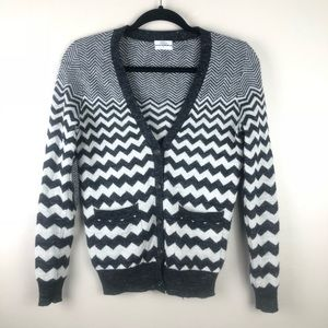 Madewell Wallace Songstress chevron cardigan